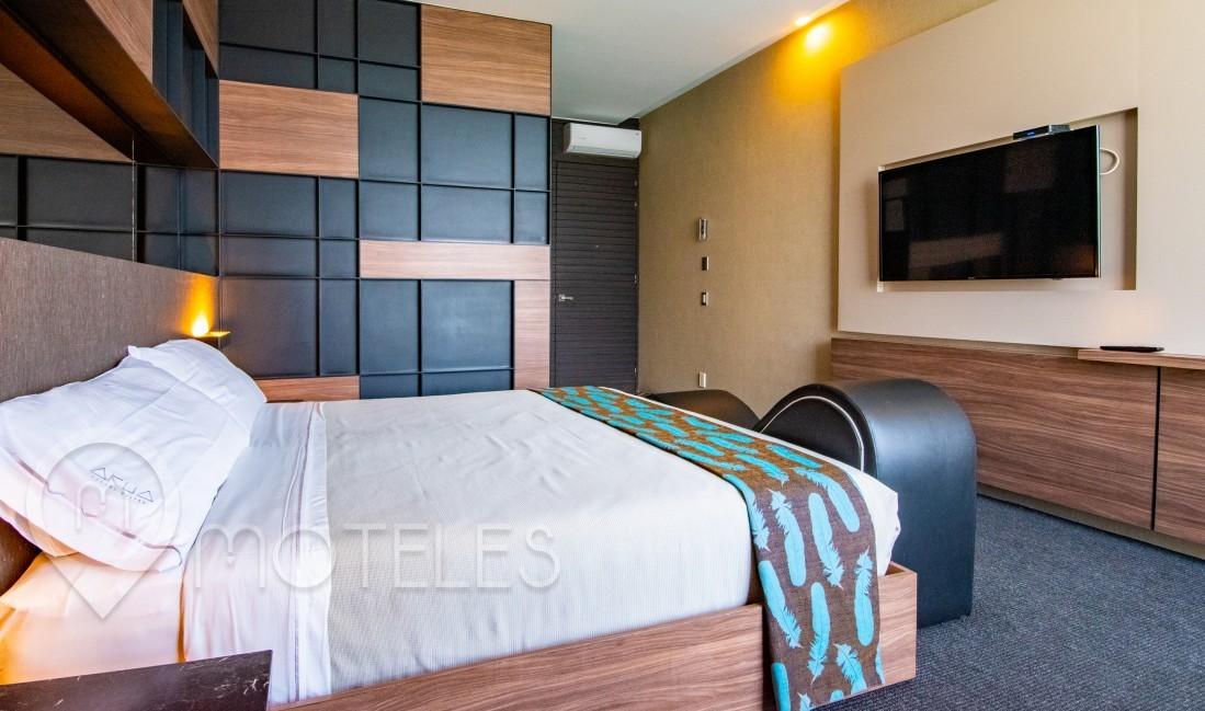 Habitacion Sencilla  del Motel Akua Luxury Suites