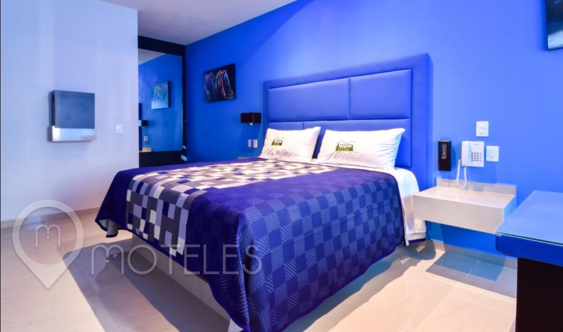Habitacion Villa Maxima del Motel Aldeas Ajusco