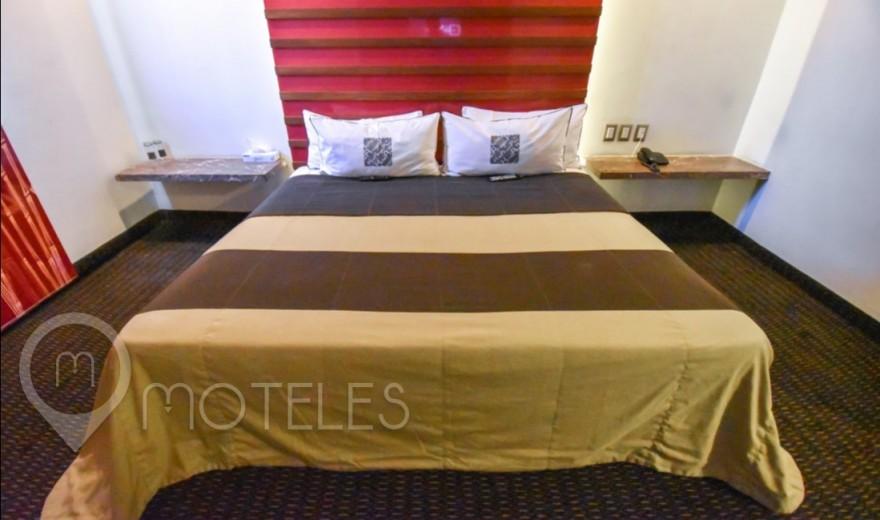 Habitacion Amplia del Motel Aragón Plaza