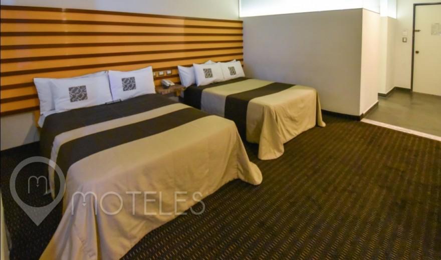 Habitacion Doble del Motel Aragón Plaza