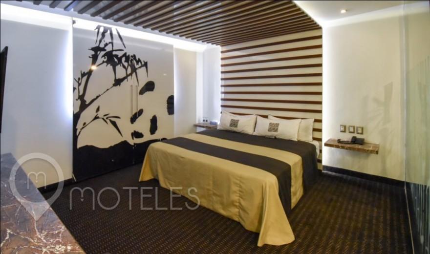 Habitacion Jacuzzi del Motel Aragón Plaza