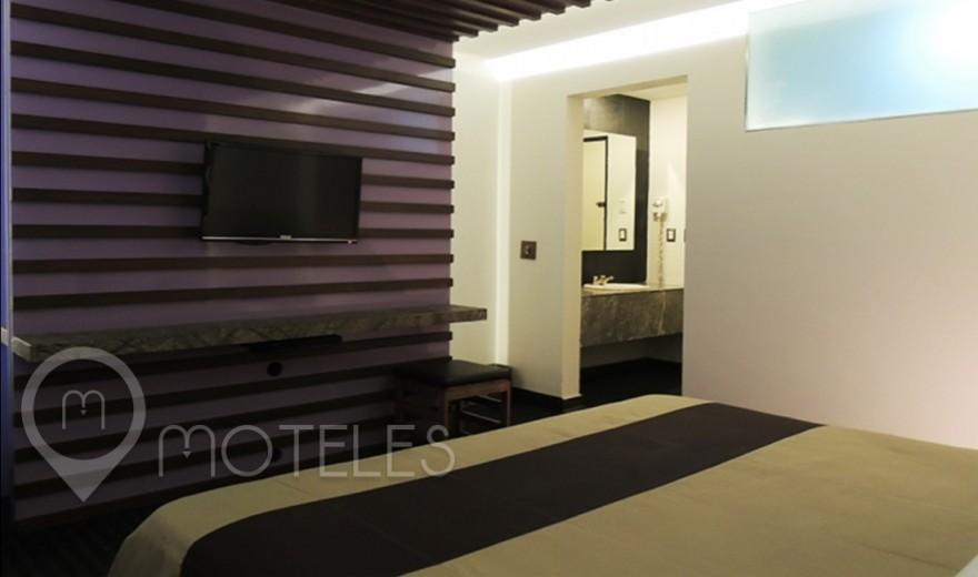 Habitacion Sencilla del Motel Aragón Plaza