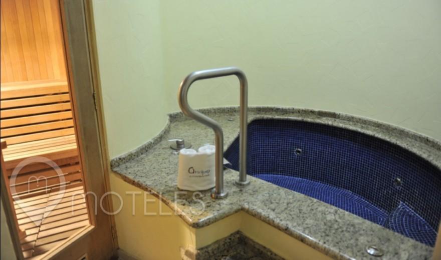 Habitacion Motel Jr. Suite Sauna del Motel Aranjuez Suites & Villas