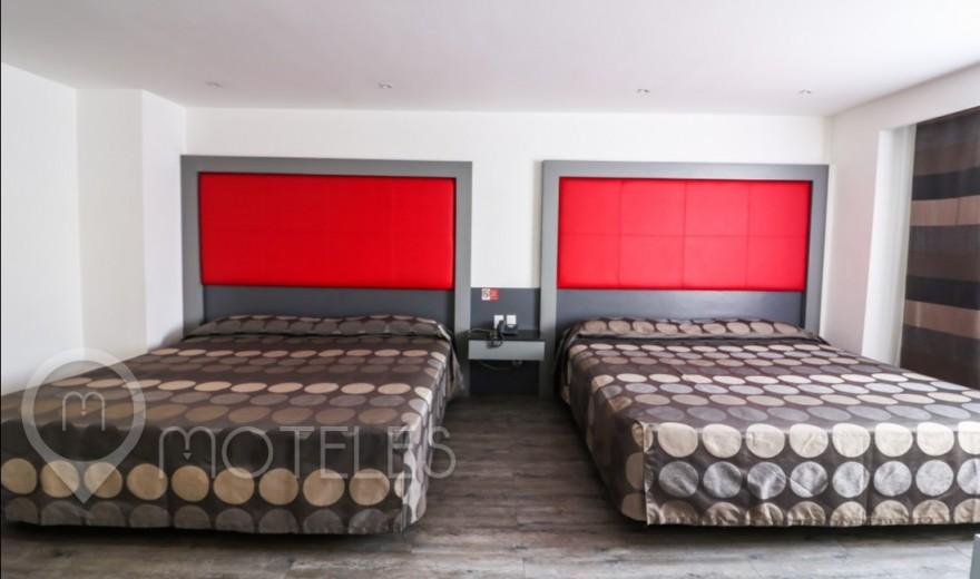 Habitacion Doble del Motel Atenas Plaza