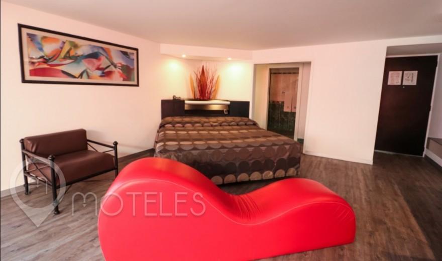 Habitacion Suite Jacuzzi del Motel Atenas Plaza