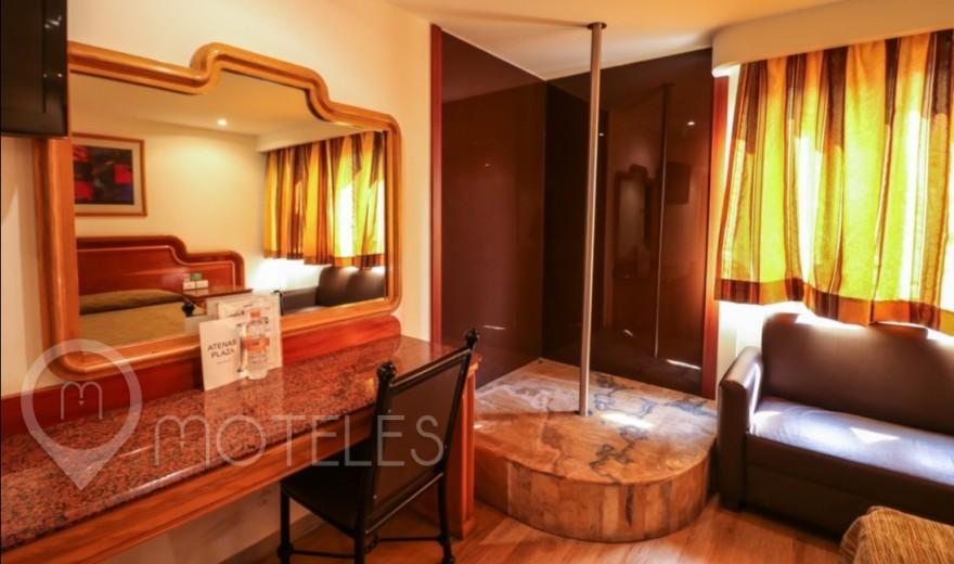 Habitacion Suite Pole Dance del Motel Atenas Plaza
