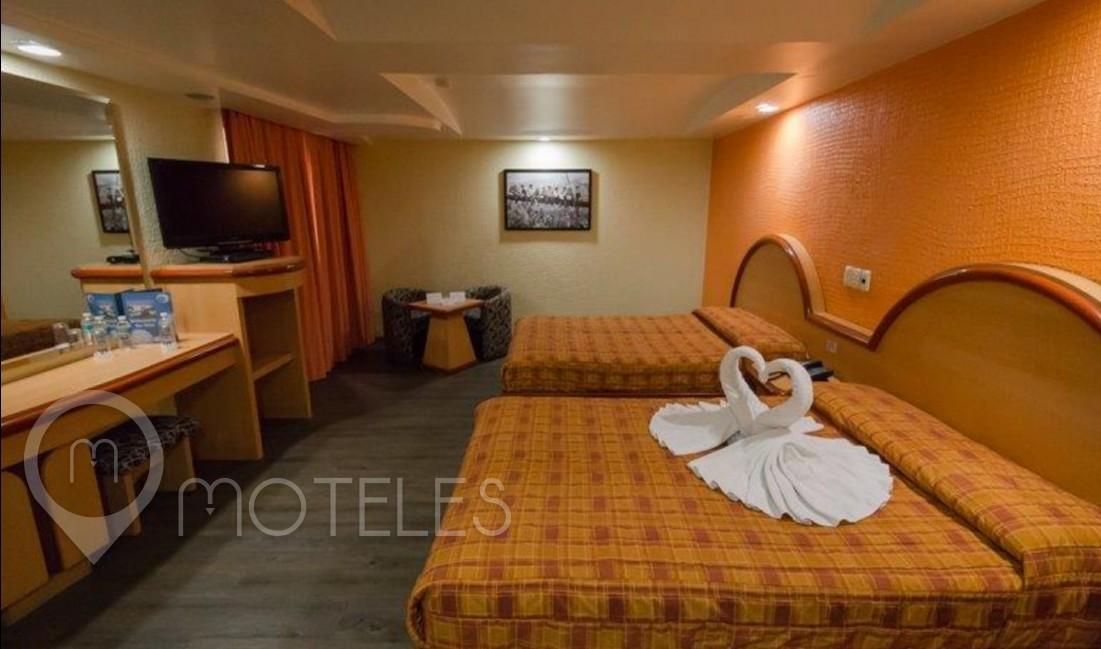 Habitacion Hotel Doble del Motel Atizapán Hotel & Villas