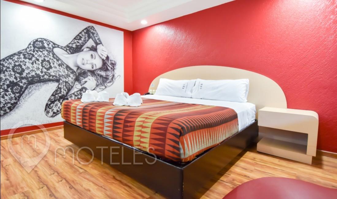 Habitacion Hotel Jacuzzi del Motel Atizapán Hotel & Villas