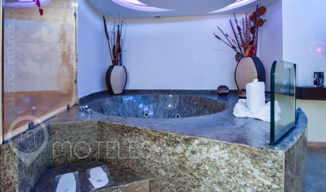 Habitacion Villa Suite Jacuzzi del Motel Atizapán Hotel & Villas