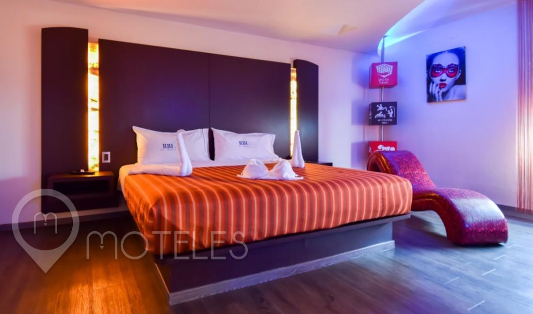 Habitacion Villa Master Jacuzzi del Motel Atizapán Hotel & Villas