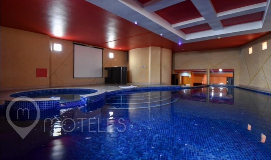 Habitacion Suite Alberca  del Motel Autohotel Rosso
