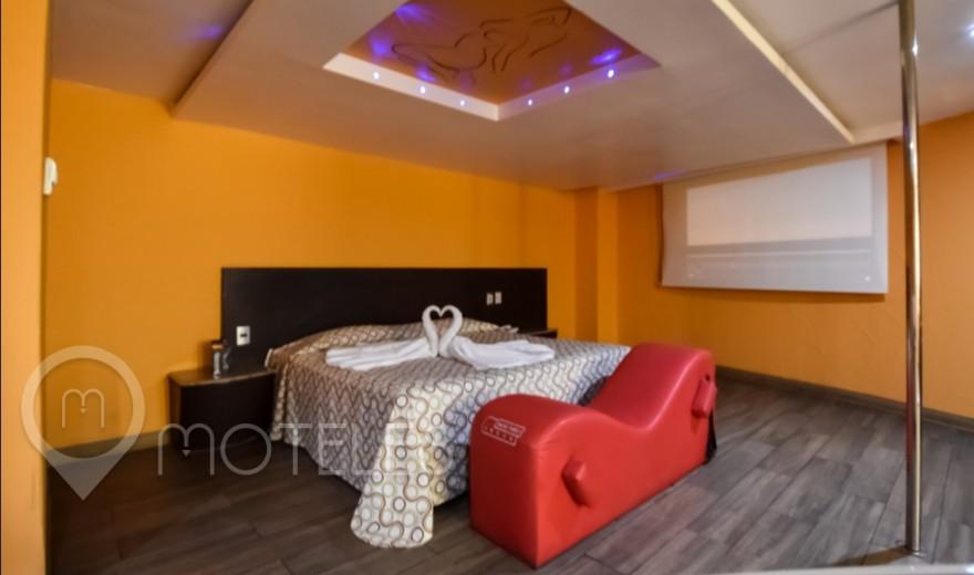 Habitacion Suite Jacuzzi  del Motel Autohotel Rosso
