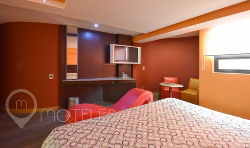 Habitacion Suite Sencilla  del Motel Autohotel Rosso