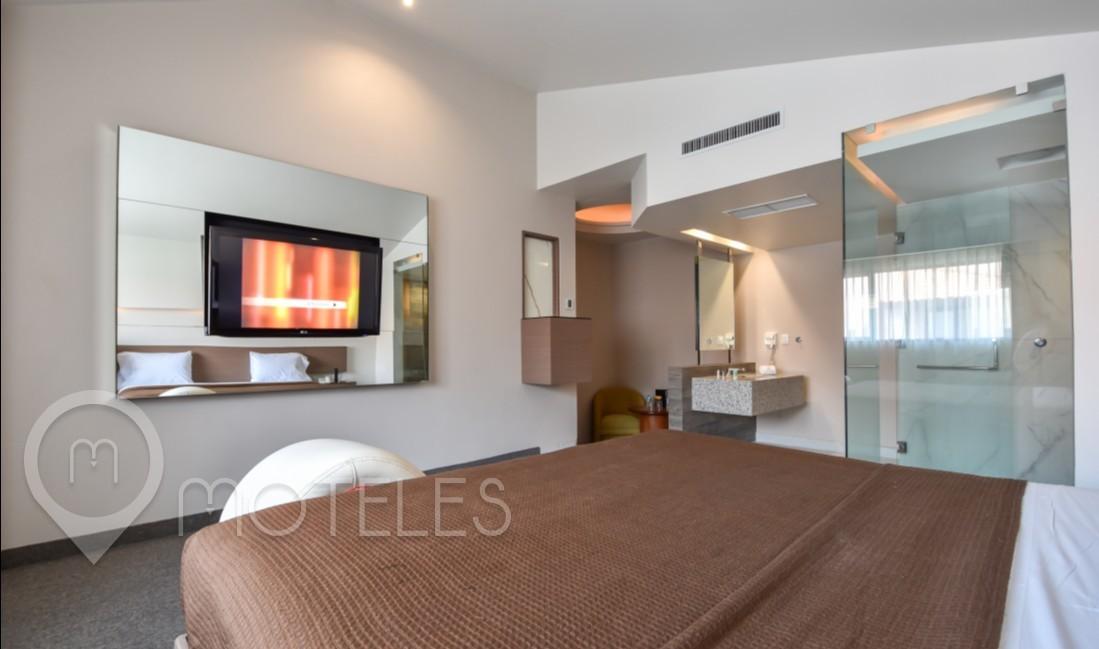Habitacion Premium  del Motel Azteca Plaza