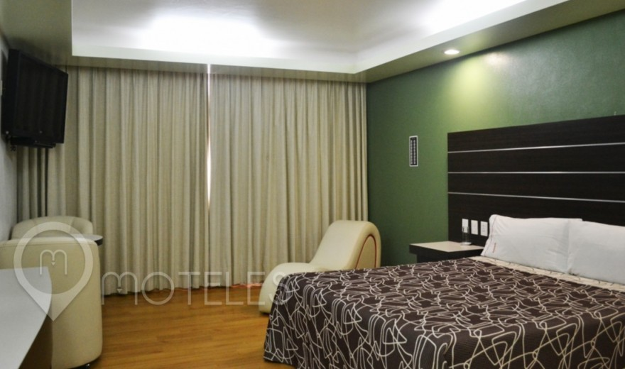 Habitacion Hotel Sencilla del Motel Bikos Hotel y Villas