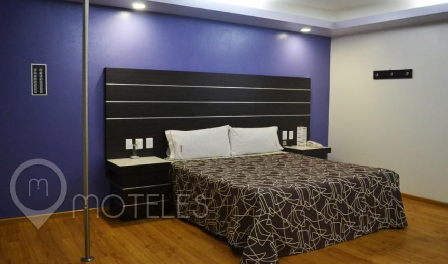 Habitacion Hotel Suite del Motel Bikos Hotel y Villas