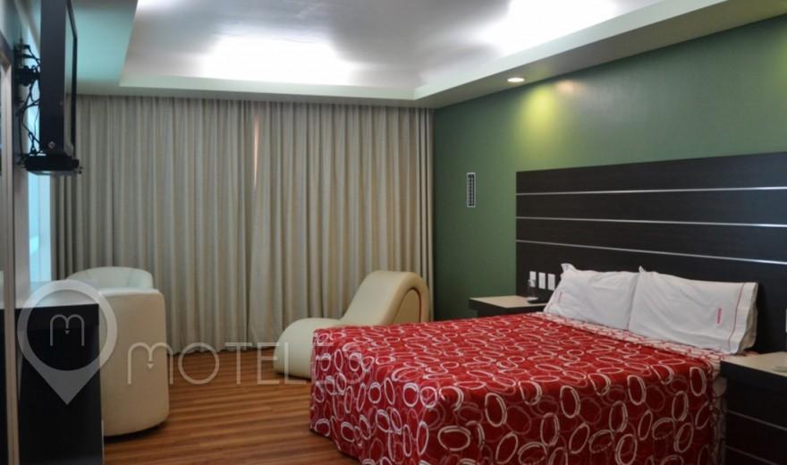 Habitacion Villa Jacuzzi del Motel Bikos Hotel y Villas