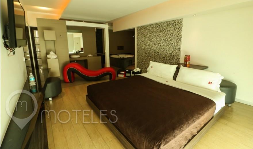 Habitacion Suite Jacuzzi / Vapor del Motel Blau Hotel & Suites