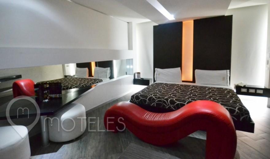 Habitacion Suite Villa del Motel Blu Hotel & Suites