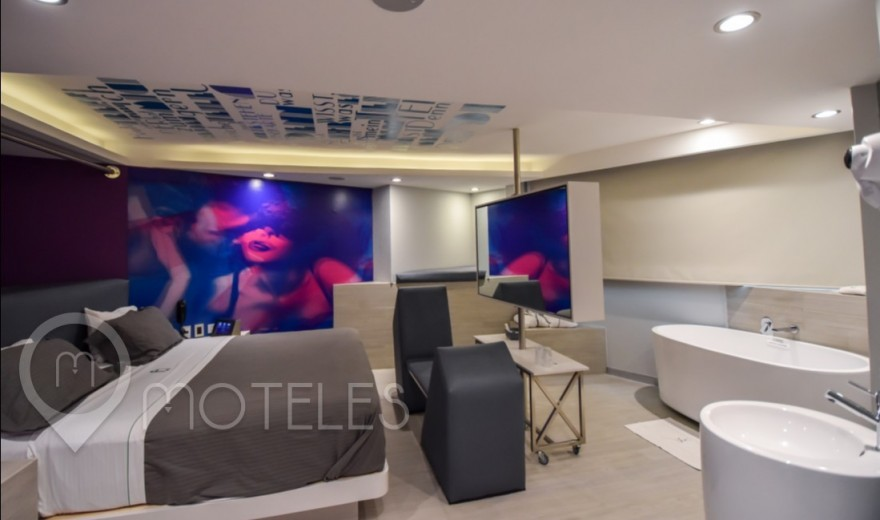 Habitacion Junior Suite Tech del Motel Bonn