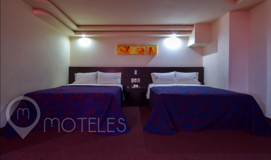 Habitacion Hotel Doble del Motel Campo Real