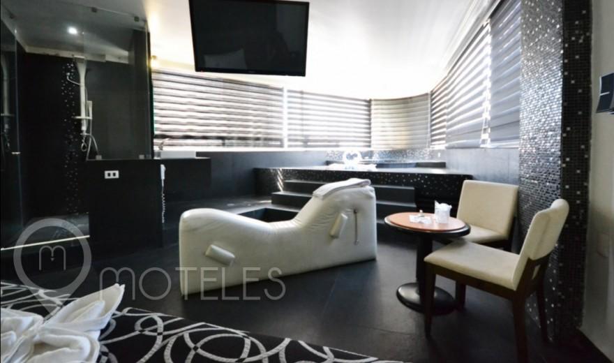 Habitacion Hotel Jacuzzi del Motel Canceleira