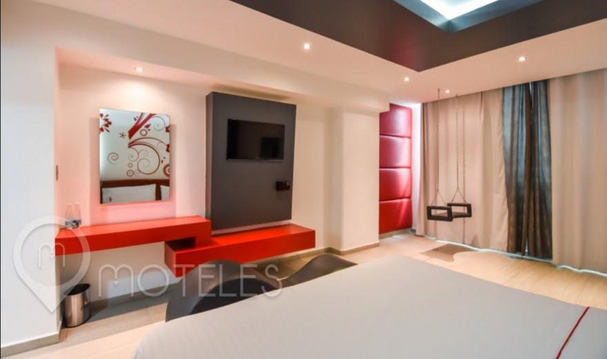 Habitacion Jr. Suite del Motel Candeli