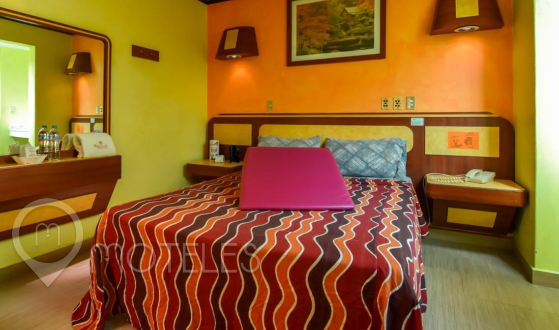 Habitacion Sencilla con Rampa Tantrica del Motel Capuchinas