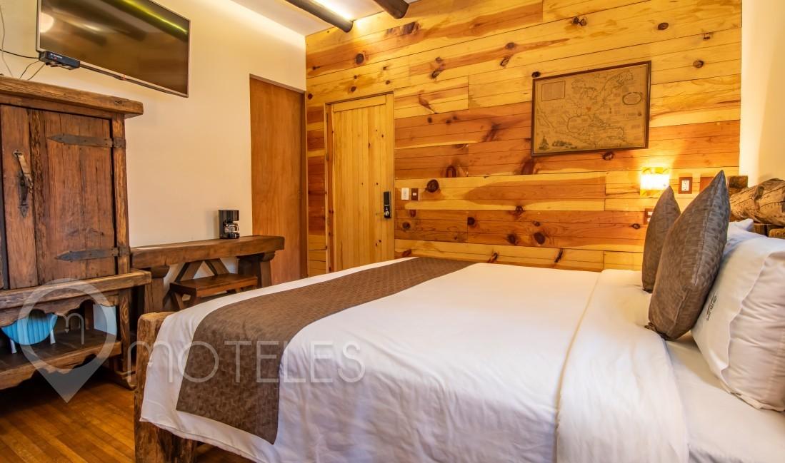 Habitacion Jr. Suite Cabaña  del Motel Casa Anzures Suites