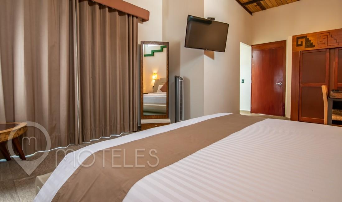Habitacion Jr. Suite Maya  del Motel Casa Anzures Suites