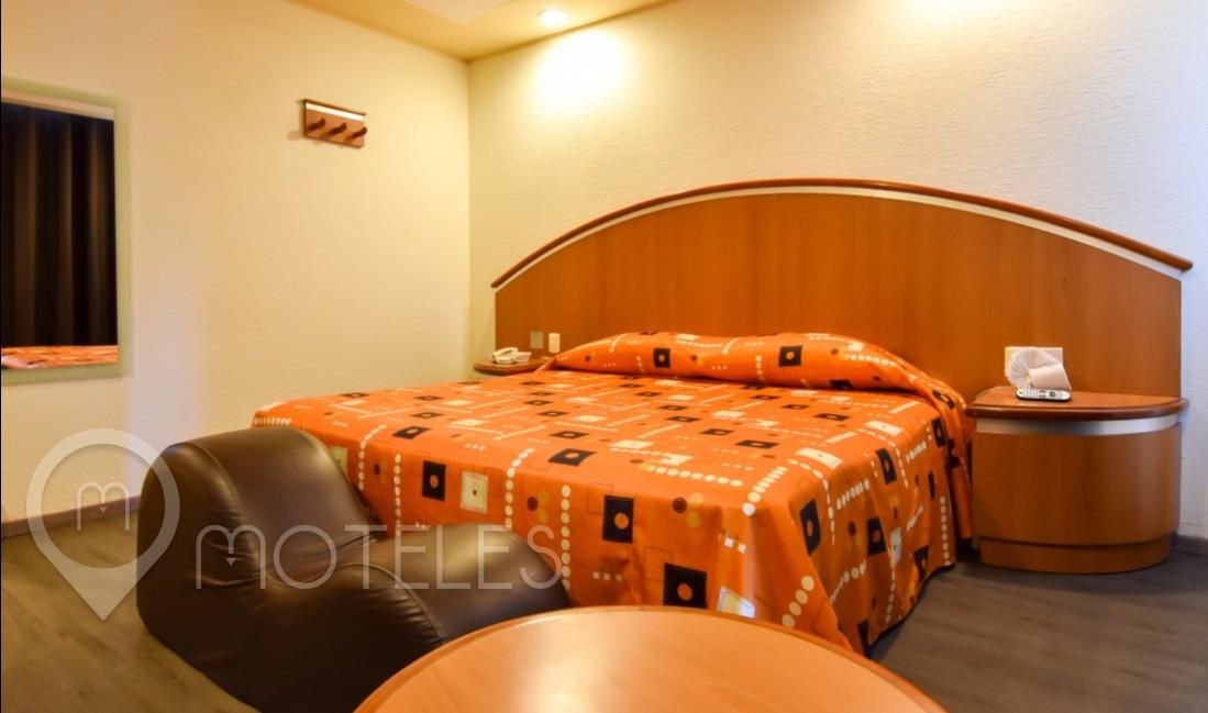 Habitacion Sencilla  del Motel Circuito