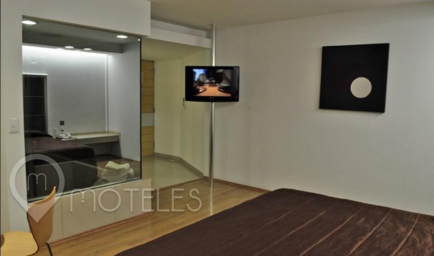 Habitacion Sencilla Torre del Motel Suites & Villas Contadero
