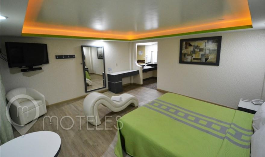 Habitacion Jacuzzi del Motel Corona Real
