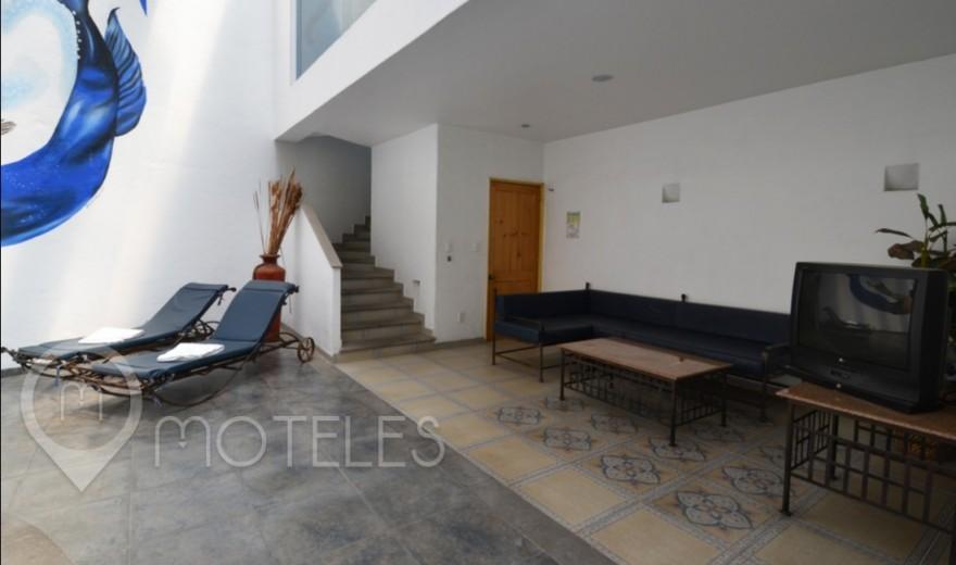 Habitacion Alberca del Motel Costa del Sol