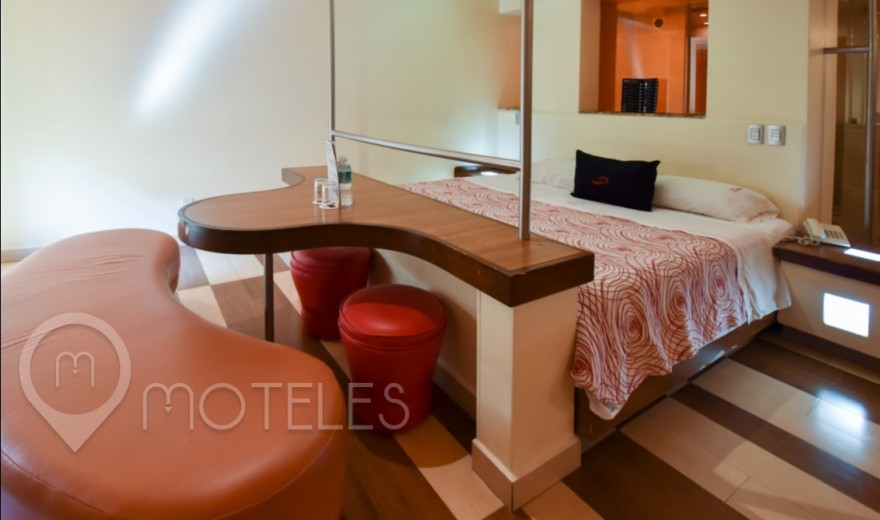Habitacion Torre Master Suite del Motel Cuore