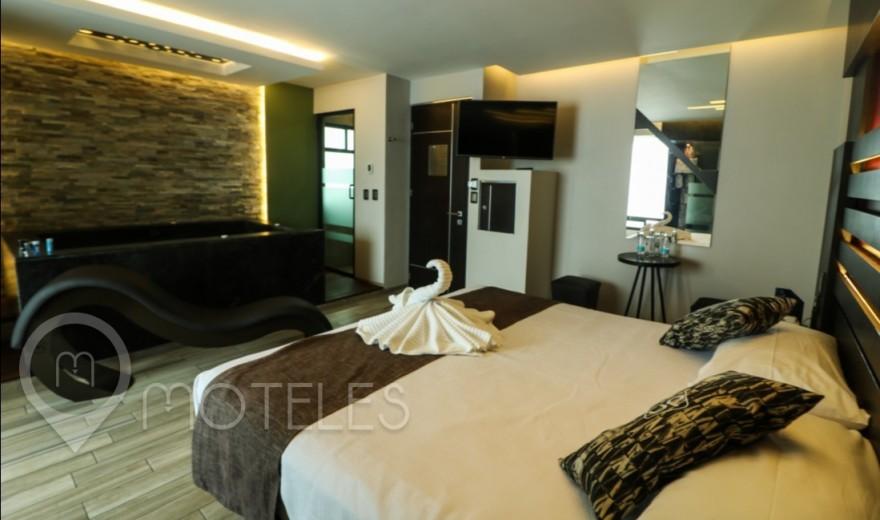 Habitacion Villa con Jacuzzi del Motel DN Hotel & Villas