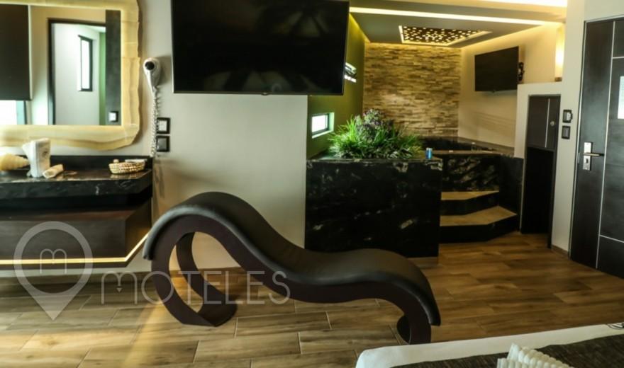 Habitacion Suite con Jacuzzi del Motel DN Hotel & Villas