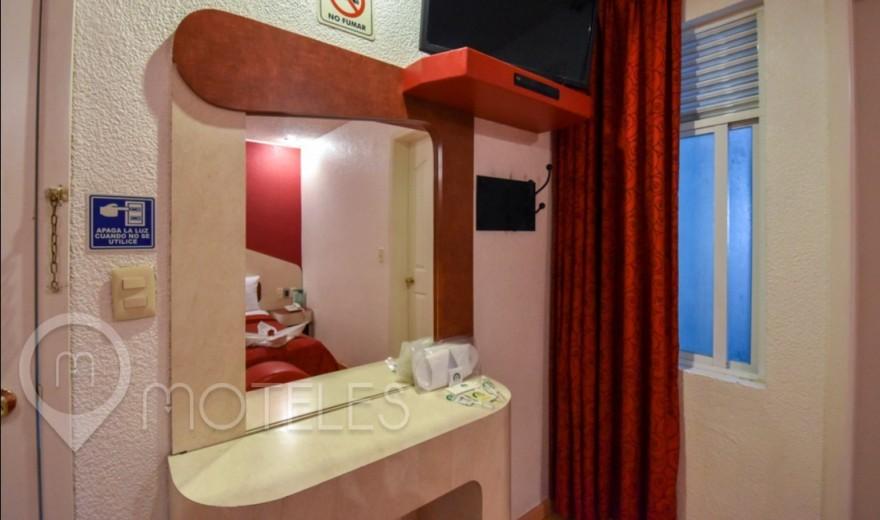 Habitacion Cama del Placer del Motel Dos Milpas