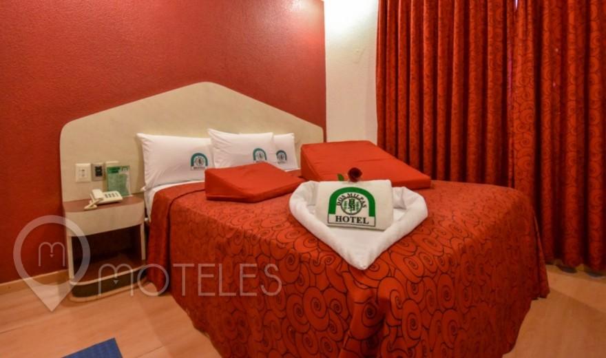 Habitacion Cojines del Amor del Motel Dos Milpas
