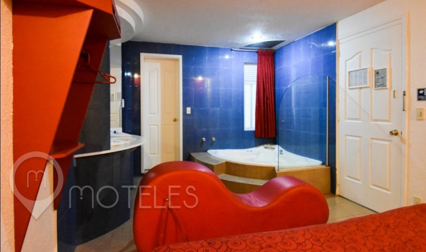 Habitacion Jacuzzi del Motel Dos Milpas