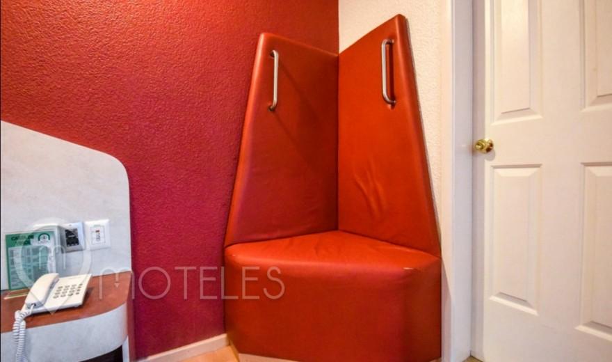 Habitacion Triángulo del Amor del Motel Dos Milpas