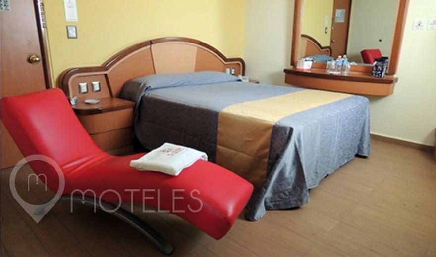 Habitacion Jacuzzi del Motel El Conde