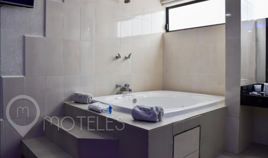 Habitacion Suite Jacuzzi del Motel El Rincón de la Selva