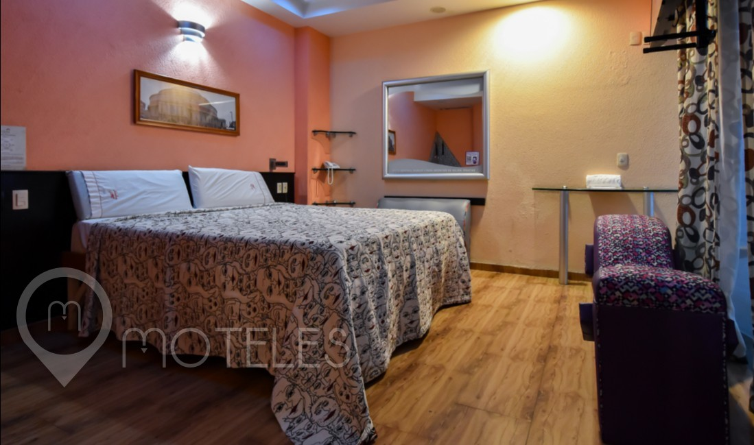 Habitacion Master Alberca del Motel AutoHotel Fantasy