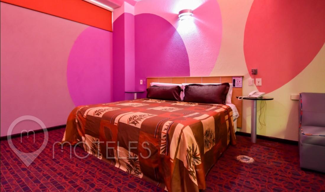 Habitacion Motel Standard del Motel AutoHotel Fantasy
