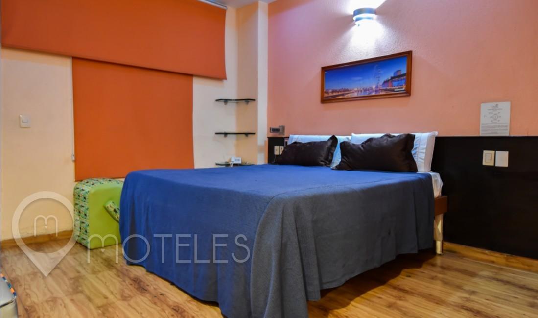 Habitacion Suite Alberca del Motel AutoHotel Fantasy