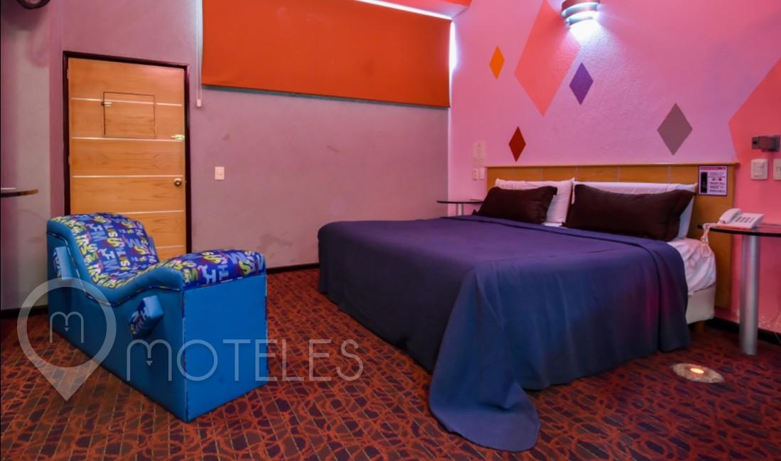 Habitacion Suite Amor del Motel AutoHotel Fantasy