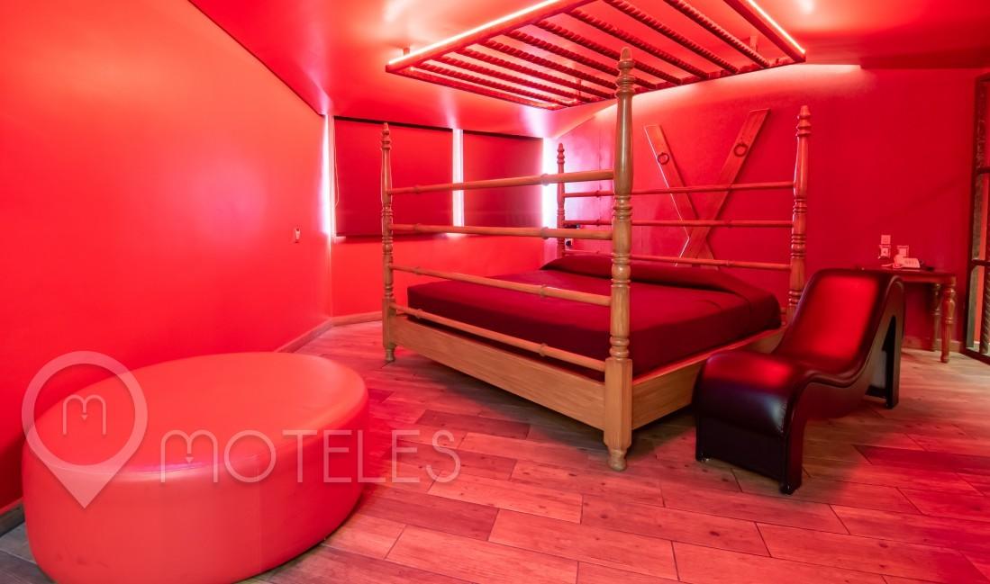 Habitacion Cuarto Rojo del Motel Ferri Hotel & Suites