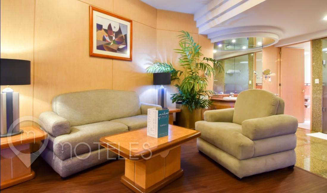 Habitacion Junior Suite con Potro del Amor del Motel Villas Firenze