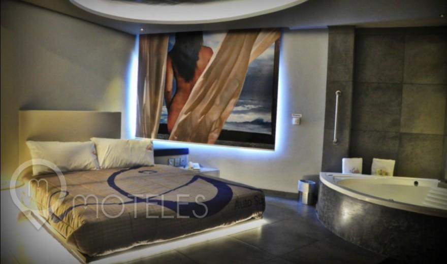 Habitacion Jacuzzi del Motel Gala Auto Suites